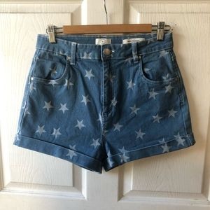 91 Cotton on high classic shorts size 10